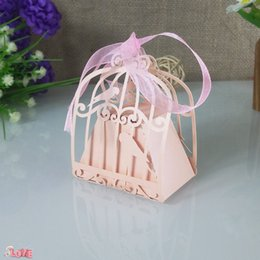$enCountryForm.capitalKeyWord Australia - 30Pcs wedding bird cage gift box laser cutting candy box party wedding decoration Christmas candy box party supplies 5ZT49