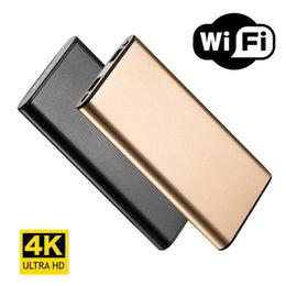 $enCountryForm.capitalKeyWord NZ - 4K HD Wifi Network Portable Power Bank Camera Night Vision Nanny Cam Motion Detection Long Video Recording for IOS Android PC Real-time View