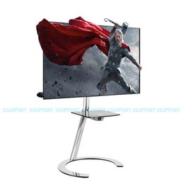 "Discount stand for weights - Fashional TV Floor Stand Mobile Bracket Mount TV Stand Arm Mobile Carts Fit for 32""-50"" Max Support 30KG Weigh"
