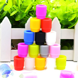 TesT drip Tip cap disposable online shopping - TFV12 Silicone Disposable Drip Tip Tester Wide Bore Mouthpiece Cover Test Cap fit TFV8 BIG BABY individual package DHL Free