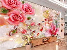 Large paper flower walls online shopping large paper flower walls custom any size 3d wall mural wallpapers for living room abstract murals large photo wall decoration flower wall paper mightylinksfo