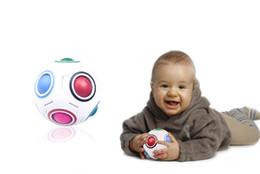 $enCountryForm.capitalKeyWord UK - Magic Rainbow Ball Intelligent 3D Plastic Football Fidget Cube Speed Puzzle Children Educational Learning Toys Games J
