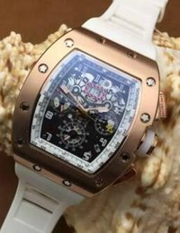 $enCountryForm.capitalKeyWord Canada - Top Brand Switzerland rose gold PVD Stainless Steel Automatic Watch Luxury Massa Frisbee Rubber Men Triple Watch