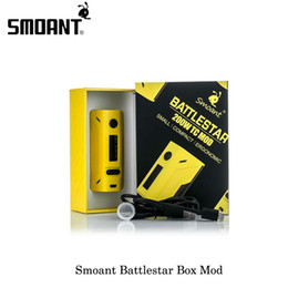 electronics load 2019 - NEW Original Smoant Battlestar TC 200W Box MOD Spring loaded 510 pins SS connector 25mm for Electronic Cigarettes Vapori