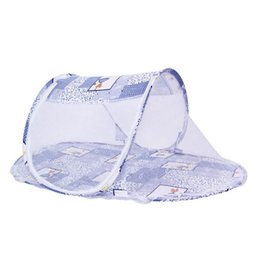 tent baby mosquito UK - Portable Baby Mosquito Net Tent Multi-Function Infant Foldable Baby Summer Tent