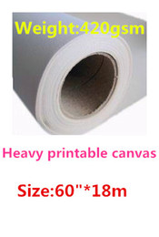 "Art Canvas Prints Australia - 60"" 420gsm Matte Inkjet Digital Printing Polycotton Canvas Roll for Art Canvas"