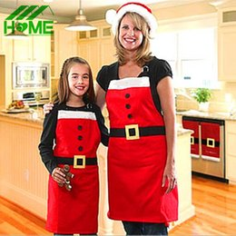 $enCountryForm.capitalKeyWord Australia - Cute Cotton Christmas Santa Claus Apron Navidad Natal Patterns Funny Sexy Women Kids Child Chef Cooking Kitchen Dinner Aprons