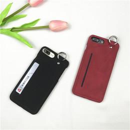 $enCountryForm.capitalKeyWord UK - PU Case for iPhone 6 7 8 X Card Holder Flip Cover for iphone PLUS Handmade luxury Ultra Slim Phone Case FREE SHIP