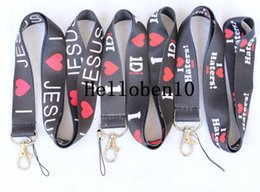 neck badge holders Australia - ILOVE1D Lanyard ID Badge Holders Mobile Neck Key chains .