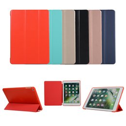 soft stand for ipad 2019 - For iPad Pro 11 Ultra Slim Lightweight Stand Case Shockproof Soft TPU Back Smart Cover for Apple iPad 10.5 Inch OPP Bag