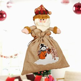 $enCountryForm.capitalKeyWord Canada - Christmas Candy Gift Bag Party Fireplace Xmas Tree Hanging Decoration Ornament for Home Hotel Office Shopping Mall