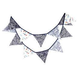 $enCountryForm.capitalKeyWord UK - 3.2M Black Sea Fish Waves Birthday Party Favor Theme Decoration Bunting Banners Home Fishes Garland ZA6581
