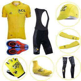 TOUR DE FRANCE team Men MTB Shirts Breathable Bike Clothing Kits Quick Dry Sport  Cycling Jerseys full equipment sportswear 103002F 9b1f666bf