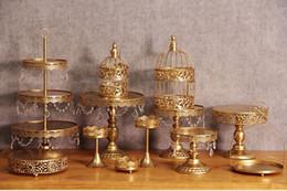 $enCountryForm.capitalKeyWord Canada - Gold Wedding Dessert Tray Cake Stand Cupcake Pan Party Supply 12PCS   Set