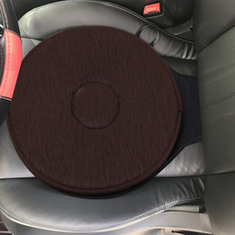round foam NZ - 360 degree rotation Rotating seat Car Seat Revolving Rotating Cushion Swivel Foam Mobility Aid Chair Seat Cushion Coffee