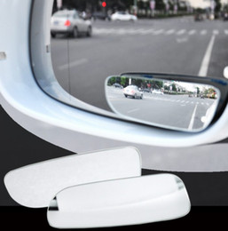 Wholesale 360 Frameless Blind Spot Mirror Car Styling Wide Angle HD Glass Convex Rear View Parking Mirrors