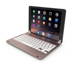 $enCountryForm.capitalKeyWord Canada - Universal Wireless Bluetooth Keyboard For 9.7inch ipad Pro Air Tablet PC Smart Cover Cases Ultra Slim ABS Material Metal Shell F17+