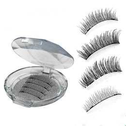 21f4e856def Model Strips UK - 18 models Double Magnetic Eye Lashes Synthetic Reusable Magnet  Eyelashes 2018 New