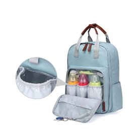 Fashion multiFunctional mummy bag online shopping - Hot High Quality Oxford Large Capacity Multifunctional Mummy Backpack Nappy Bag Baby Diaper Bags Maternity Babies Care Product Bags