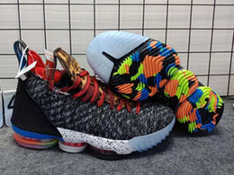 1b9a903d200 2018 New Arrival THRU LMTD Starting 5 What the XVI 16 Multicolor Basketball  Shoes for AAA+ Mens Trainers 16s Sports Sneakers Size 7-12