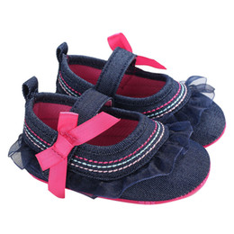 2018 ARLONEET Baby Infant Kids Girl Bowknot Soft Sole Crib Toddler Newborn  Shoes Soft Handmade Baby Shoes First Walkers 2245e7834309