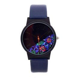 $enCountryForm.capitalKeyWord UK - Men Women Fashion leather Strap Lovers Analog Quartz Wrist Watch Luxury Simple Style Designed Bracelet Watches Women Clock pt4