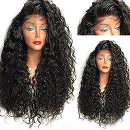Malaysian Kinky Curly Full Lace Wig Australia - Malaysian Curly Full Lace Human Hair Wigs With Baby Hair 100% Brazilian Virgin Hair Kinky Curly Lace Front Wigs For Black Women
