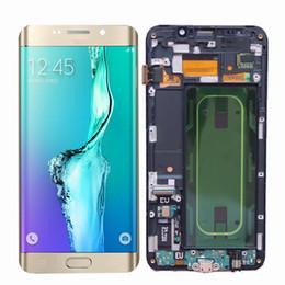 $enCountryForm.capitalKeyWord Australia - ORIGINAL 5.7'' Super AMOLED for SAMSUNG Galaxy s6 edge Plus LCD G928F Touch Screen Digitizer Assembly with Frame