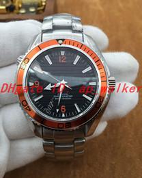 $enCountryForm.capitalKeyWord Canada - Hot sale Automatic Mechanical Movement calendar 007 SKYFALL luxury CO-AXIAL Edition Wristwatch Stainless Steel Orange bezel Men watch