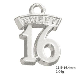 Sweet 16 Gifts NZ - Sweet 16 birthday gift word charms