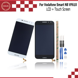 "Touch Screen N8 NZ - ocolor For Vodafone Smart N8 VF610 LCD Display and Touch Screen 5.0"" Mobile Phone Accessories For Vodafone Smart N8 VF610 +Tools"