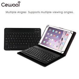 bluetooth types 2019 - Cewaal Universal Modern Split Type 9.7-10.1inches Dustproof Aluminum Alloy Tablet Wireless Bluetooth Keyboard Shell disc