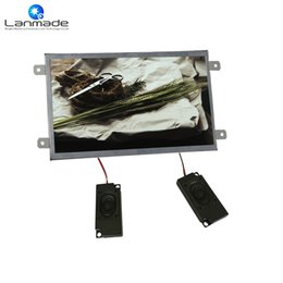 sd card player tv Canada - 10 inch real 1080p shopping tv taxi lcd advertising display screen open frame lcd ad player