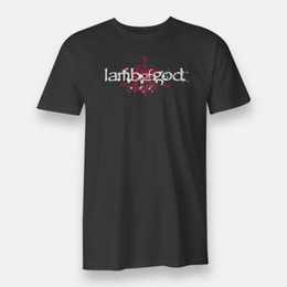 0903de993b8f Lamb of God Band As The Palaces Burn Size S-3XL Tees Black Men s Cotton T- shirt