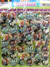 Axis Powers Hetalia 4.5CM LOT PIN BACK ANIME BADGE BUTTON for BAG CLOTH PARTY
