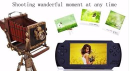 Chinese  4GB 8GB 4.3 Inch PMP Handheld Game Player MP3 MP4 MP5 Player Video FM Camera Portable Game Console manufacturers