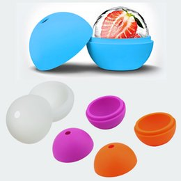 ceramic balls Australia - 50pcs 2.5 inch Silicone Ice Ball Maker Mold Sphere Large Tray Whiskey DIY Mould New Free Shipping