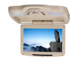 Sd Dvd Player Australia - 1piece 11 inch car roof mount dvd USB SD FM IR Game Stable car dvd player flip down