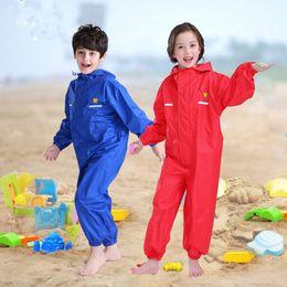 $enCountryForm.capitalKeyWord Canada - Raincoat Kids The Suit Of Siamese Cartoon Raincoat Children Boys Waterproof Pu Glue Clothes Rain Pants Suit