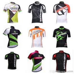 merida cycle tops 2019 - MERIDA team Cycling Short Sleeves jersey 2018 Latest Bike Top Shirt Size XS-4XL Riding Sweatshirt Outdoor D310 discount