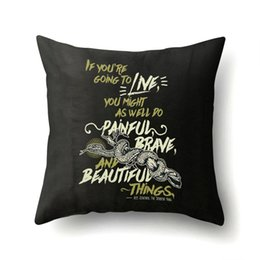 Pillows Words Online Shopping | Throw Pillows Words for Sale