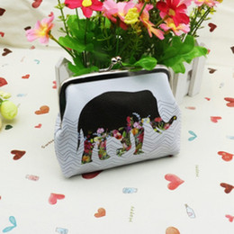 Discount women elephant wallet - Ladies Wallets And Purses Anime Wallets Elephant Pattern Purse For Coin Purse Female Money Tray Case For Cards