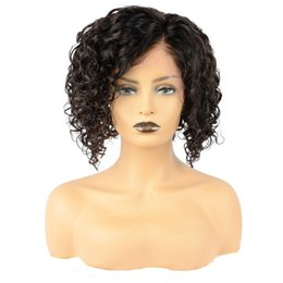 $enCountryForm.capitalKeyWord UK - Short Bob Cut Full Lace Wig Human Hair Long Bob with Side Part Lace Front Wigs For Black Women