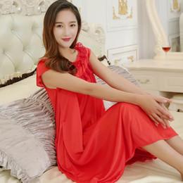 9c7a67494b 2018 Hot Sale Plus Size 5XL New Sexy Silk Nightgowns Women Casual Chemise  Nightie Nightwear Lingerie Nightdress Sleepwear Dress
