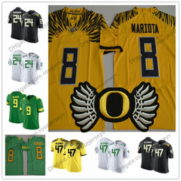 c506998e71b NCAA Oregon Ducks  9 LeGarrette Blount 24 Kenjon Barner 47 Kiko Alonso 34  CJ Verdell White Black Green Yellow College Football Jerseys