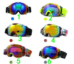purple ski goggles UK - Skiing Goggles UV400 Double Layers Lenses Anti-fog Anti-Scratch Wear Over Rx Glasses, Snowboard Sunglasses for Men Women