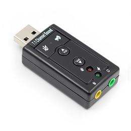 Высокое качество 7.1 Внешняя USB-карта памяти USB-разъем 3,5 мм Наушники Аудио-адаптер Микрофон Звуковая карта для Mac Win Compter Android Linux