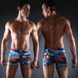 1ba80bcf94e Very Popular Print Mens Sexy Swimwear Big Size Men Swimsuit Men Swim Wear Plus  Size XXXL Elastic Waist-tie Male Swim Trunk