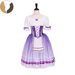 179cefd1c FLTOTURE AT1300 Professional Ballet Tutu Dress Girls Classical Romantic  Tutu Skirt Child Custom-Made Dance Costumes For Sale cheap girl romantic  tutu dress
