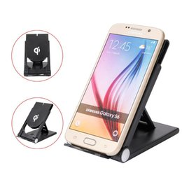 charger note5 2019 - 2018 New Qi Wireless Charger Micro USB Wireless Folding Charging Power Stand For Samsung S9  S8  S7  Note5 iPhone X 8 Qi